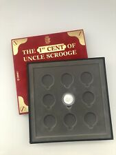 The 1st Cent of Uncle Scrooge Silver Coin Walt Disney Collection