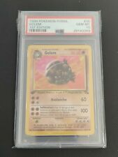 Golem | PSA 10 GEM MINT | 1999 Fossil 1st Edition #36 | Pokemon