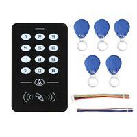 Controllo Accesso Porta Tastiera Lettore Di Schede RFID Wiegand26 1000 Utenti