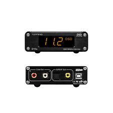 TOPPING D10S Mini-Audio-HiFi-Decoder Digitaler USB-DAC ES9038Q2M PCM384KHz X7U0
