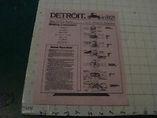 High Grade Sci Fi Flyer picked up Feb 16, 1980--DETROIT IN '82 CONVENTION INFO