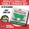 WORLD'S SMALLEST TABLE TENNIS SET DESKTOP PING PONG OFFICE FAMILY GAME KIDS GIFT