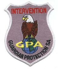 GPA Intervention Guardian Protection Switzerland Patch FREE SHIPPING Worldwide