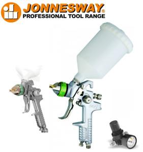 Jonnesway JA-HVLP-1080G Spray Gun Professional High Velocity Low Preasure 1.7 mm