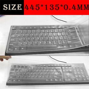 Keyboard Skin Universal Silicone Desktop Computer Keyboard Cover Skin Protector