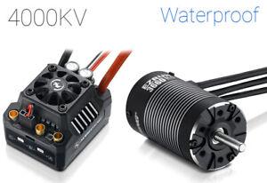 Hobbywing EzRun Max10 SCT 3660SL 4000Kv Brushless Motor and 120A ESC Combo...