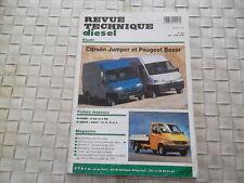 REVUE TECHNIQUE CITROEN JUMPER ET PEUGEOT BOXER MODELES DE 1991 à 1994