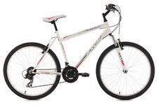 "Mountainbike Hardtail 26"" MTB Icros 21 Gänge weiss-rot RH 51 cm KS Cycling 312M"