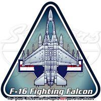 General Dynamics-Lockheed F-16 Fighting Falcon US AirForce USAF American-Sticker