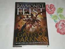 At the Gates of Darkness by Raymond E. Feist *Signed*