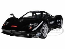 PAGANI ZONDA F NURBURGRING BLACK 1/24 DIECAST CAR MODEL BY MOTORMAX 73370