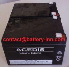 Batterie Invacare Zoom HMV 300 2X12V pour Scooter de Mobilité Electrique