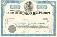 Philips Electronics & Pharmaceutical Industries PEPI stock certificate