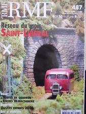 RMF Rail Miniature Flash n°487 2006 Reseau Saint - Liberal  [TR.33]