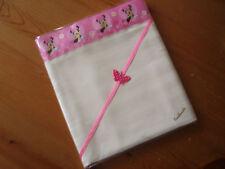 Handmade Baby bedding Pr Cream 50/50 Polycotton&Minnie Mouse Satin sheetscrib