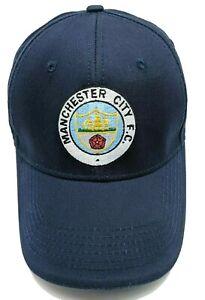 MANCHESTER CITY FOOTBALL CLUB hat blue adjustable cap - 100% cotton New Era
