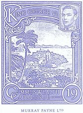 The Commonwealth King George VI Catalogue 19th Edition - Murray Payne Ltd.