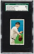 Hal Chase 1910 1909-11 T206 Thowing Dark Cap Centered! SGC 84 7 !!