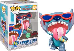 Funko Pop Lilo & Stich: Stitch (Scented) Figure SPECIAL EDITION w/ Protector