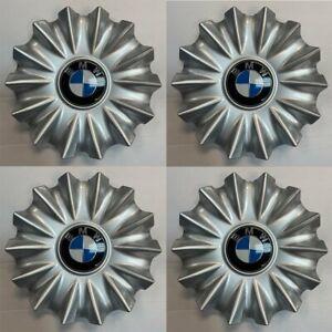 4PCS OEM SILVER Center Cap for 16-20 BMW 740e 740i 745e 750i M760i 6868053-01