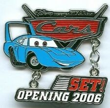 Disney Pin: WDW - Disney-Pixar's Cars Countdown - Set! - The King (LE 1000)