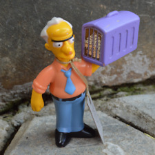 2007 | Burger King The Simpsons Russ Cargill Talking Figure | 3.5 inches