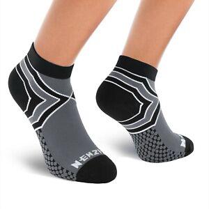 ⭐️NEWZILL Low Cut Compression Socks Unisex Running Socks(15-20 mmHg)| One PAIR⭐