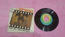 The supremes Floy Joy This is story press febbraio 1972 Italy 45 giri usato