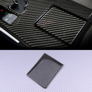 Carbon Water Cup Holder Cover Trim Panel Fit for LEXUS IS250 IS300 IS350 2006-12