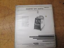 Lincoln Electric Invertec SST & SST 2  Service Manual