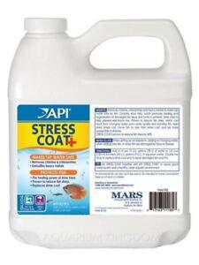 API Stress Coat 946ml Aquarium Tap Water Conditioner EXP 2023