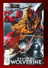Death Of Wolverine (2014) #1 - Deadpool Gamestop Variant - Comic - Marvel Comics