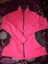 Girls Size 10-12 M Medium Soft Pink Winter Zipper Jacket Combine Shipping