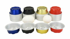 KitchenDance 2 Ounce Fluted Colored Foil Cups-  Baking Cups- Dessert cups - #A3