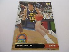 Carte NBA UPPER DECK 1992-93 ALL-DIVISION TEAM FR #48 John Stockton
