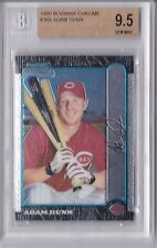 1999 Bowman Chrome Adam Dunn Rookie Graded BGS 9.5