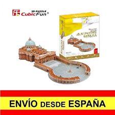 Puzzle 3D BASÍLICA DE SAN PEDRO CubicFun Educativo Rompecabezas 144 Piezas a0070