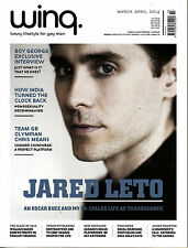 WINQ Magazine for Gay Men March-April 2014 JARED LETO Boy George @New / Mint@