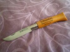 ancien couteau pliant Opinel N° 8 Le Beaufort virole fixe avant 1955