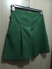 BNWT Girls Bottle Green Midford Brand Sz 22 School Uniform Skort Style Culottes