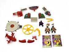 PARTS- Playmates TMNT Mini Mutants LEONARDO Mutant Military Playset UPDATED 6/11