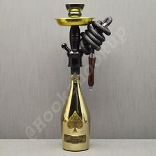 Ace Hookah Ace Of Spades .750 Gold Bottle Hookah Armand De Brignac Shisha