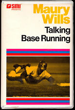 1977 SMI MAURY WILLS TALKING BASE RUNNING 2 TAPE AUDIO SET L A DODGERS PIRATES