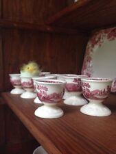Beautiful Villeroy & Boch RUSTICANA RED Vintage egg cup
