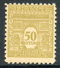 TIMBRE DE FRANCE NEUF LUXE 623 ** TIMBRES ARC DE TRIOMPHE DE L ETOILE