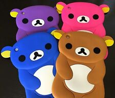 For Apple iPad Mini 1st 2nd 3rd Gen - SOFT RUBBER SILICONE SKIN CASE COVER BEAR