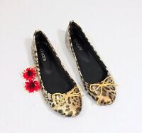 Chico's Leopard Print Ballet Flats US 8M SKU# D002
