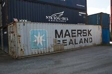 40 Fuss Stahl Container high cube 9'6'' hoch Lagercontainer Seecontainer