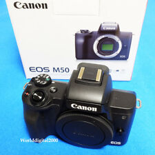 CANON EOS M50 Only Body(Black) 4K Recording Touch LCD 25 LanguagesSelectable