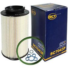 10x Kraftstofffilter SC 7047p von SCT Germany